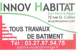 Innov Habitat un partenaire pour nos constructions