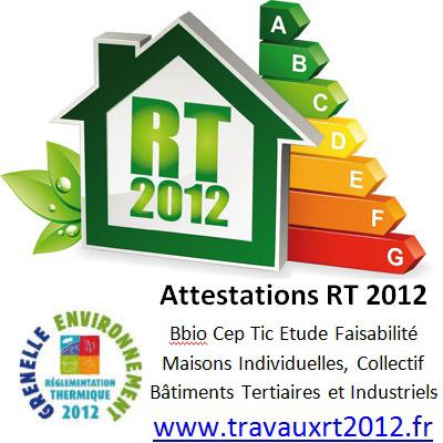 Votre attestestation RT 2012