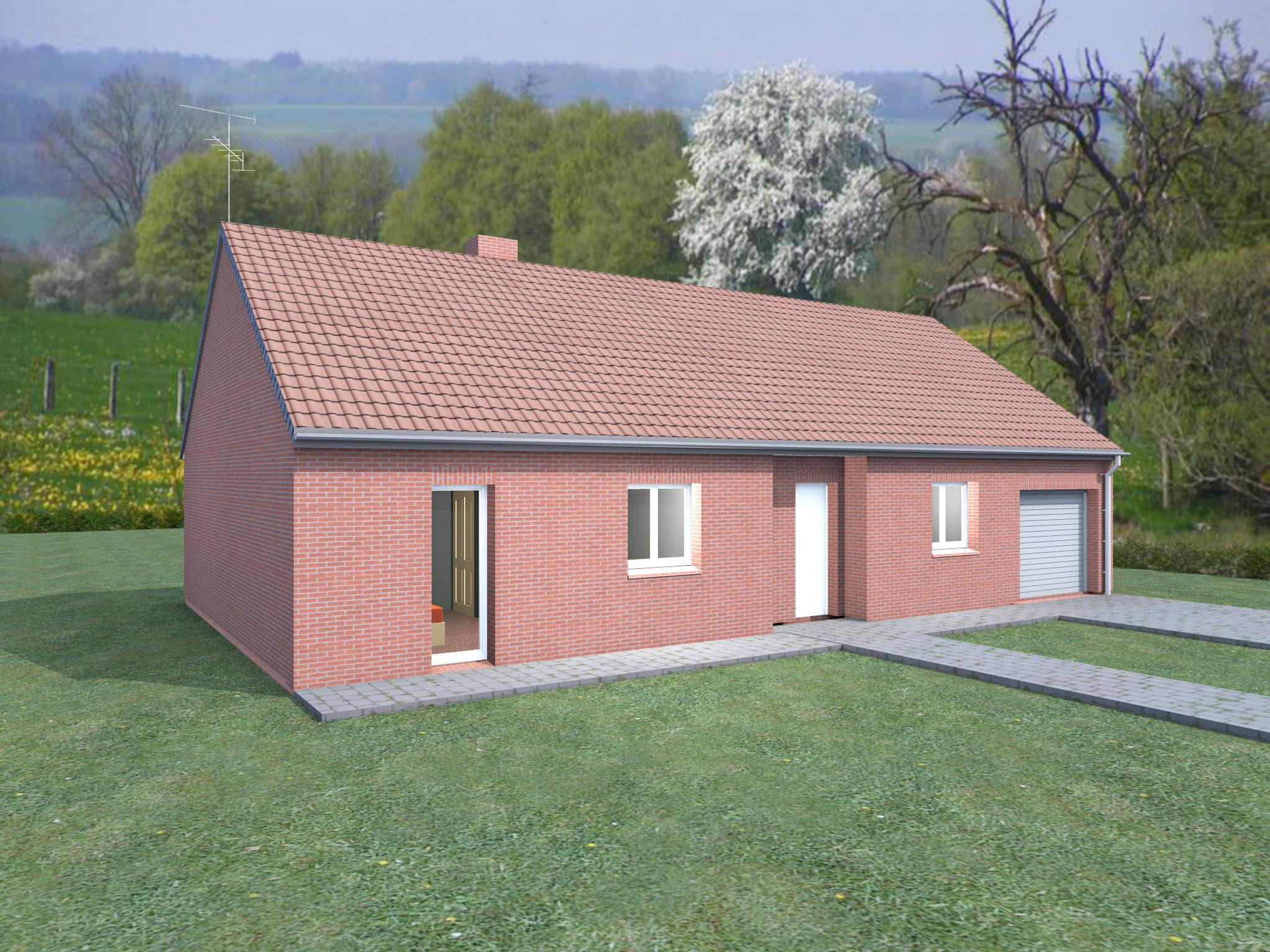 Couleur maison construction notre mod le rubis for Modele maison construction