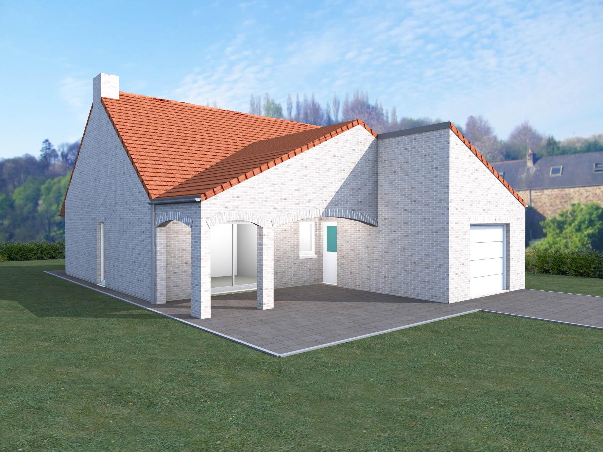 Couleur maison construction notre mod le corail for Modele maison construction