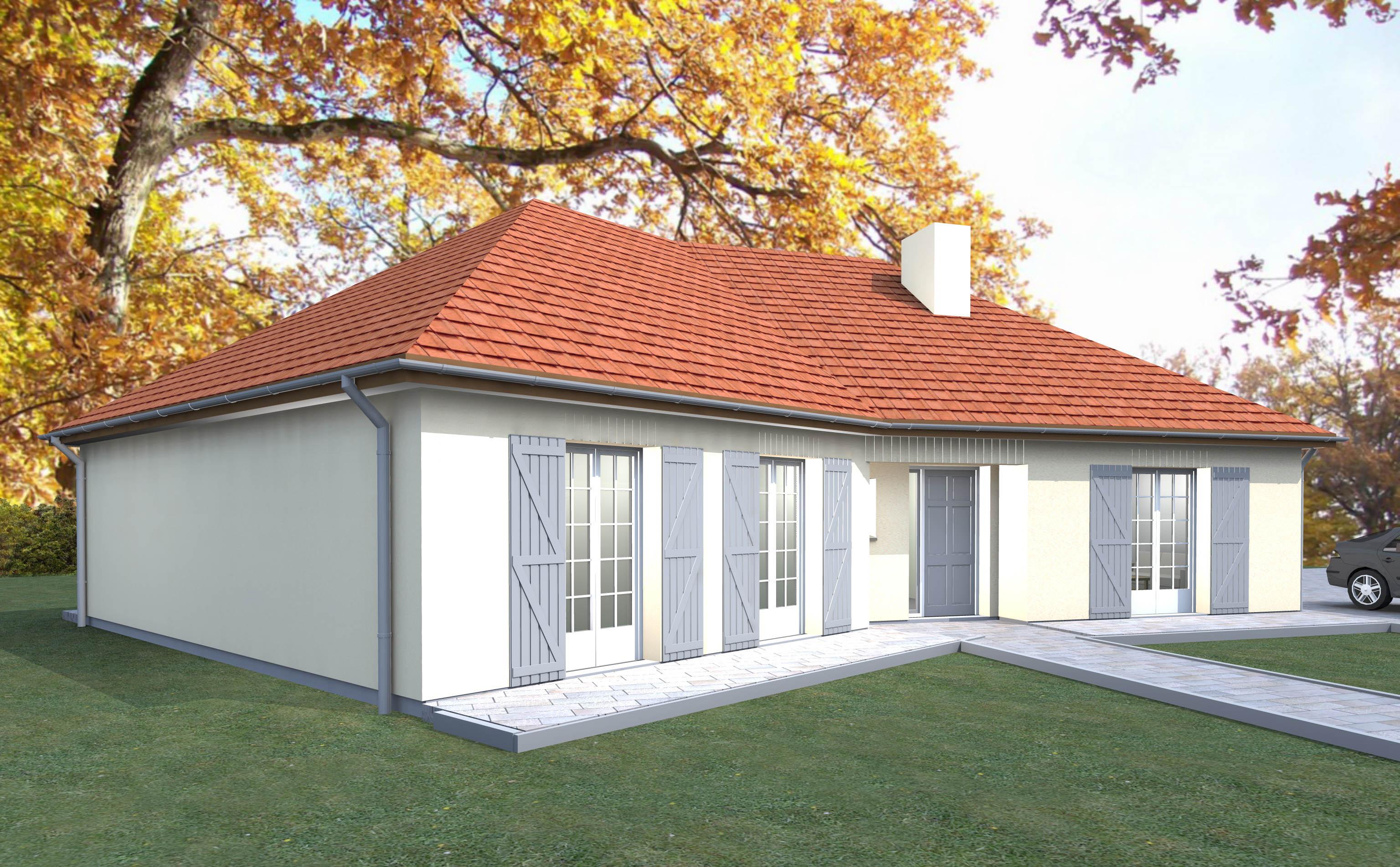 Couleur maison construction notre mod le petite violette for Construction maison modele