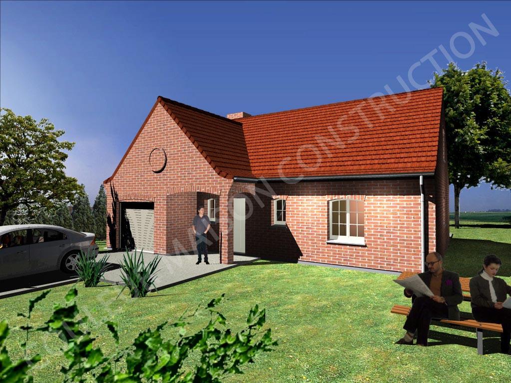 Couleur maison construction notre mod le indigo for Modele maison construction