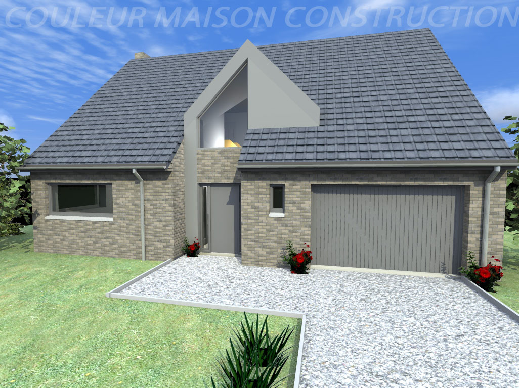 Couleur maison construction notre mod le cannelle for Couleur maison construction