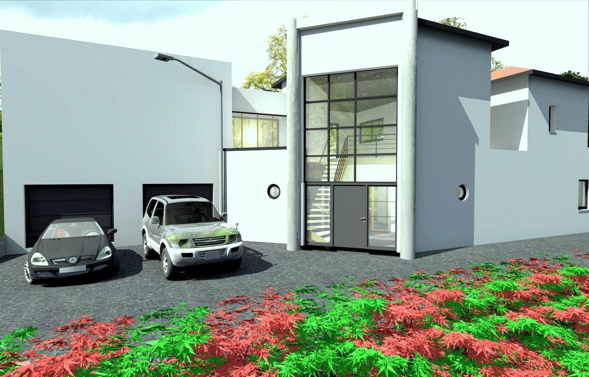 Couleur maison construction notre tude champagne maison for Exemple de facade moderne
