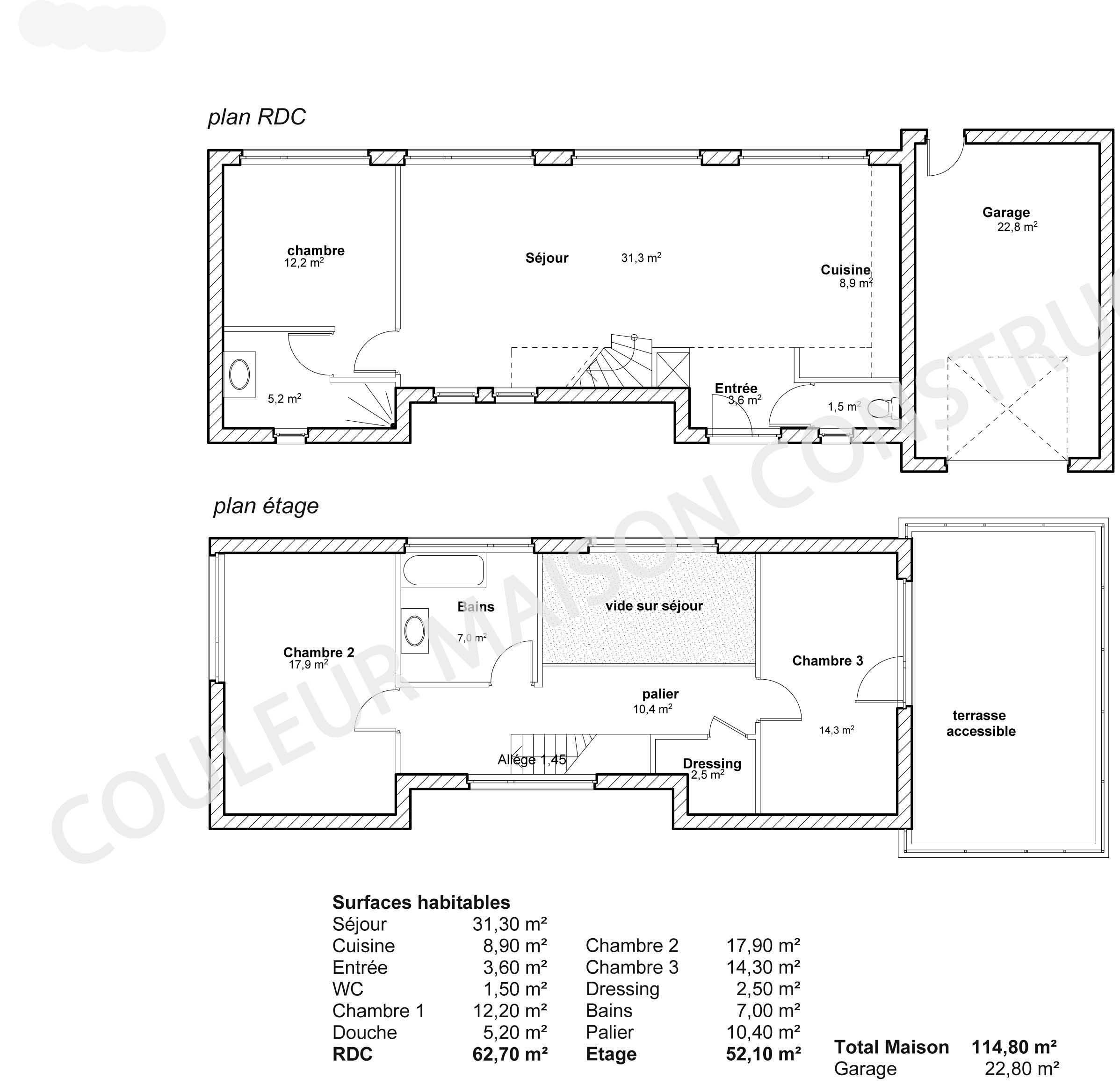 Plan De Maison Au Format PDF