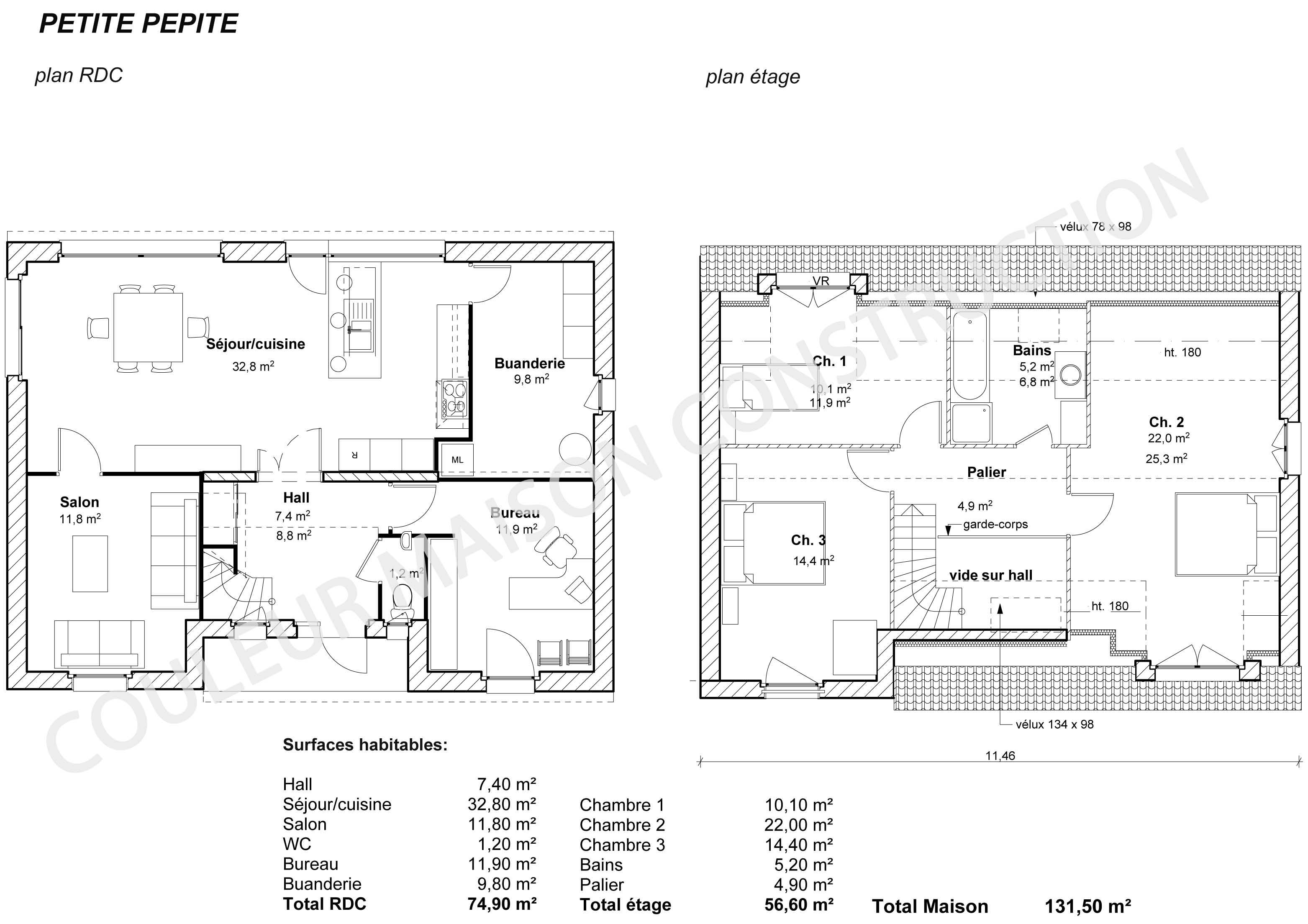 Plan maison moderne gratuit pdf images for Plan de maison contemporaine a etage gratuit