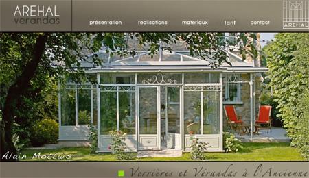 Aréhal: verrières et verandas à l ancienne