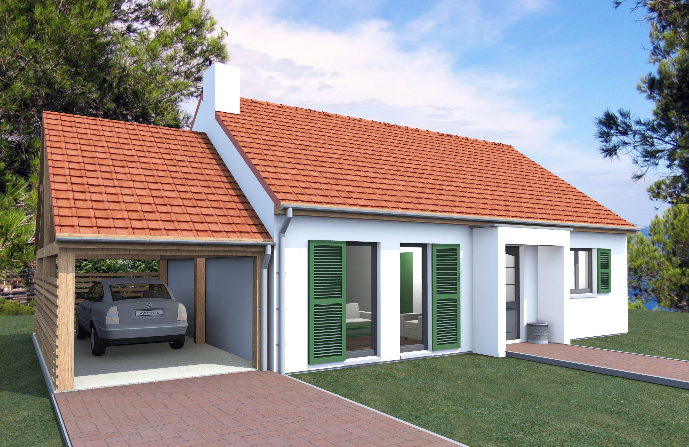 Construction petite maison for Petite maison construction
